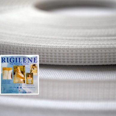 Rigilene Boning 8mm and 12mm in White
