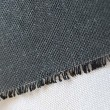 Buckram Material in Black by William Gee