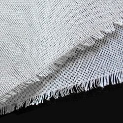 Buckram Material in White by William Gee