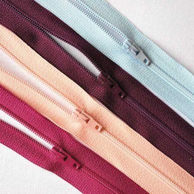 Opti: Nylon Zips