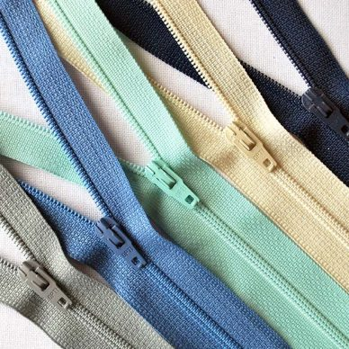 All Nylon Zips