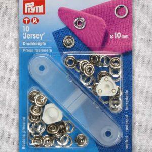 Prym Jersey Fasteners 10mm (ring) - 390107