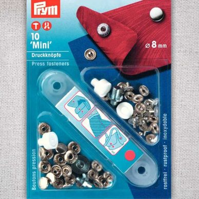 Prym Press Fasteners - Mini 8mm - 390360