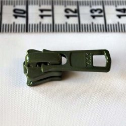 YKK Plastic Vislon No.5 Slider in Khaki