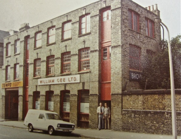 The warehouse round the corner in Forest Rd - not much has changed