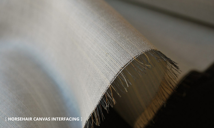 Horsehair Canvas Interfacing