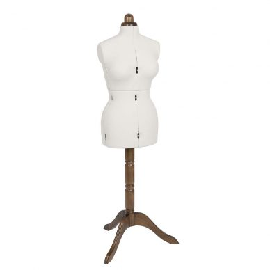 Lady Valet Dress Form - Medium - Ecru