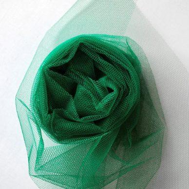 Nylon Dress Net - Forest Green