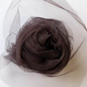Nylon Dress Net - Peat