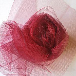Nylon Dress Net - Strawberry