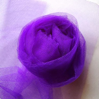 Nylon Dress Net - Violet