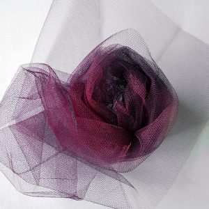 Nylon Dress Net - Wine