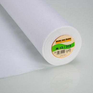 Vilene M12 Sew-In Interfacing in White