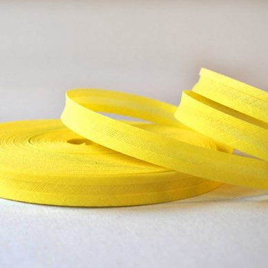 Bias-Binding-Cotton-Lemon - William Gee UK