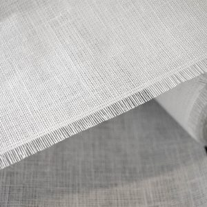 10K Linen Canvas roll in Whitel - William Gee