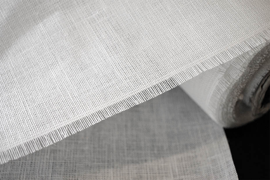 10K Linen Canvas Interfacing - Non-Fusible (Sew In)