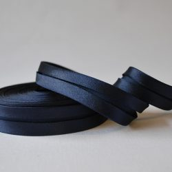 Bias Binding Satin - Navy