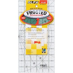 "Olfa Quilters Ruler 6"" x 12"" - William Gee"