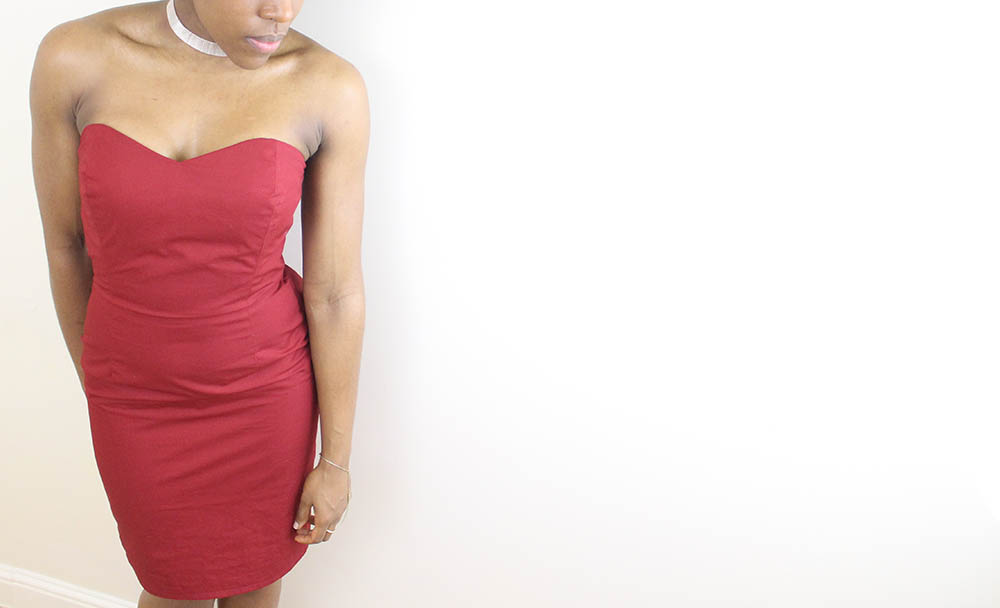 Strapless Dress 11