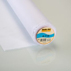 Vilene G710-10 Iron On Interfacing in White
