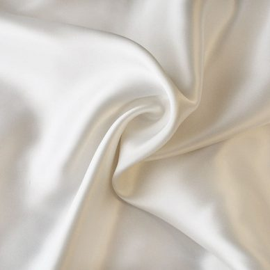 Viscose Satin Lining - Ivory - William Gee UK