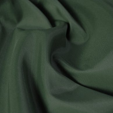 Nylon Taffeta Lining in Bottle Green - William Gee