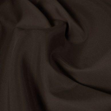 Nylon Taffeta Lining in Dark Brown - William Gee