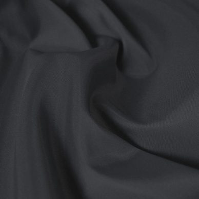 Nylon Taffeta Lining in Dark Grey - William Gee