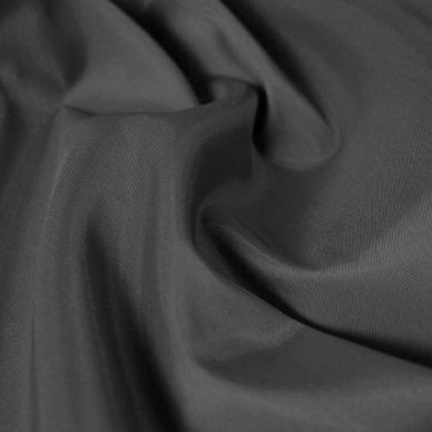 Nylon Taffeta Lining in Mid Grey - William Gee