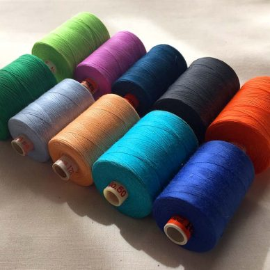Pot Luck Rainbow Sewing Threads