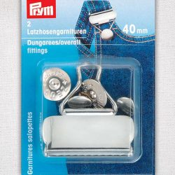 Prym Dungaree/Overall Fittings 40mm - William Gee