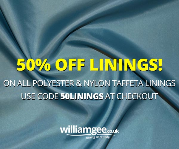 50% Off Linings Sale