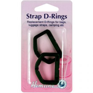 Hemline Strap D-Ring Buckle Clips 25mm and 32mm - William Gee copy