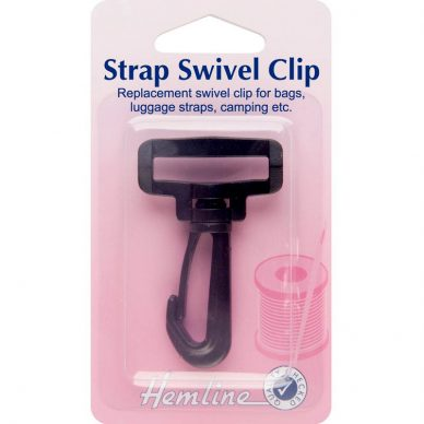 Hemline Strap Swivel Clip 25mm and 32mm - William Gee