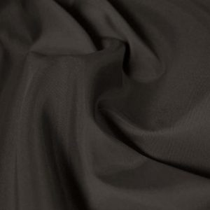 Polyester Taffeta - Charcoal - William Gee