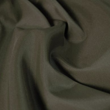 Polyester Taffeta - Khaki Green - William Gee