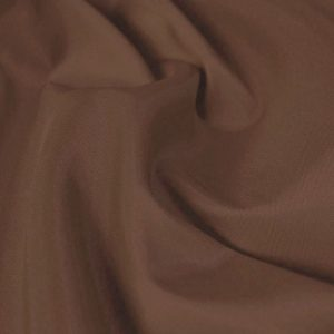 Polyester Taffeta - Chocolate Brown - William Gee