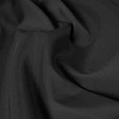 Polyester Taffeta Lining in Black - William Gee