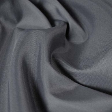 Polyester Taffeta - Mid Grey - William Gee