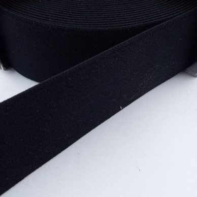 Prym Coloured Elastic - Black - William Gee