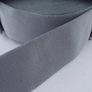 Prym Coloured Elastic - Grey - William Gee