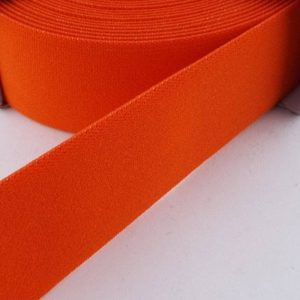 Prym Coloured Elastic - Orange - William Gee