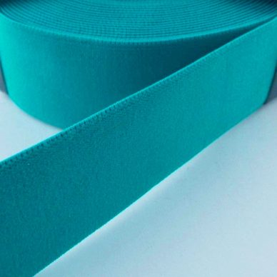Prym Coloured Elastic - Turquoise - William Gee