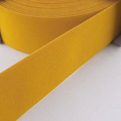 Prym Coloured Elastic Yellow 957411 - William Gee