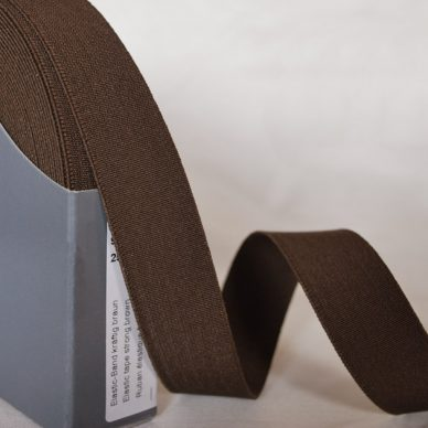 Prym Strong Elastic 25mm - Brown - 955223 - William Gee