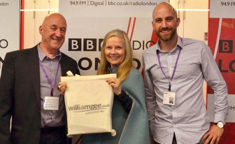 William Gee on BBC Radio London 94.9FM