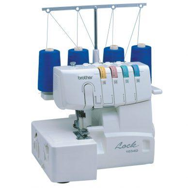 Brother 1034D Overlocker Sewing Machine - William Gee