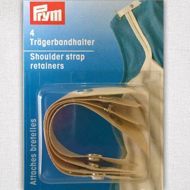 Prym Shoulder Strap Retainer - Beige - 401170 - William Gee