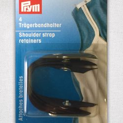 Prym Shoulder Strap Retainer - Black - 401168 - William Gee