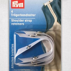 Prym Shoulder Strap Retainer - White - 401169 - William Gee